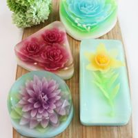 3D Art Floral Jelly Workshop ( SkillsFuture Approved Course)