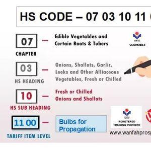 Malaysian Customs Classification of Goods
