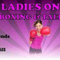 Ladies Only Kickboxing &amp Taekwondo