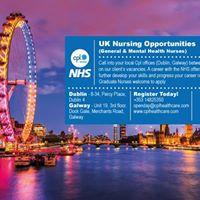 Open Day - UK Nursing Opportunities