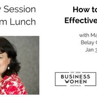 Effective Director - Discovery Lunch - WA