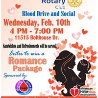 Blood Drive and Social