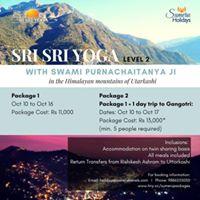 Sri Sri Yoga Level 2 (with Gangotri visit) in Uttarkashi