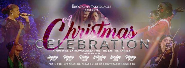 a christmas celebration - Brooklyn Tabernacle Christmas Show