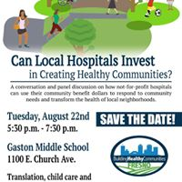 Can Local Hospitals Invest in Creating Healthy Communities