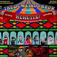 DC Weirdo Show Presents Heretix