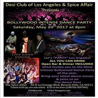Bollywood Intense Dance Party Los Angeles