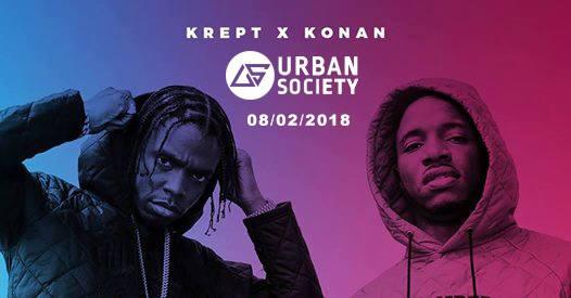 Urban Society Krept & Konan Live