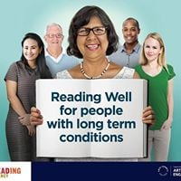 Launch of Reading Well for people with long term conditions