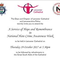 Service of Hope and Remembrance at Leicester Cathedral