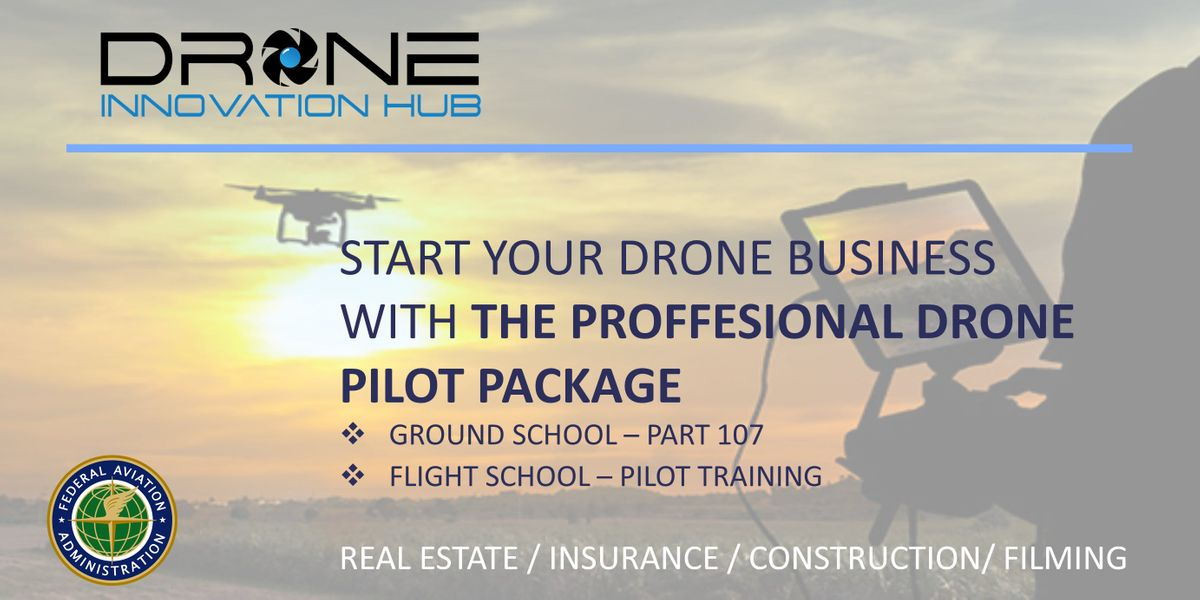 JUMPSTART YOUR DRONE CAREER. BECOME A CERTIFIED PILOT