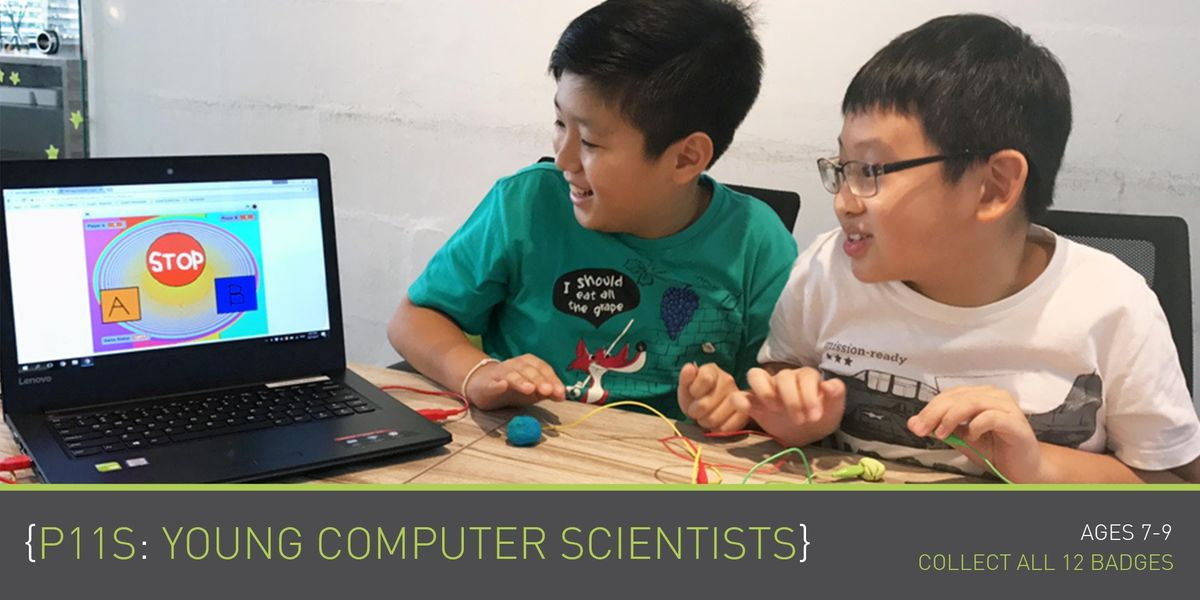 Coding for Kids - P11S - Young Computer Scientist Programme (Ages 7-9)  Parkway Parade (By Theme)