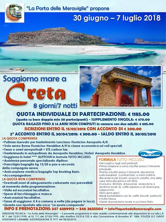 Soggiorno mare a Creta at Crete, Greece