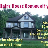 Bellaire House Para Community Clean-Up Cook Out &amp Free ALL NIGHT INVESTIGATION