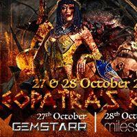 Cleopatras Revenge feat Gemstarr &amp Miles Slater (HK) 27&amp28 Oct