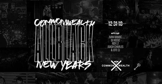 Commonwealth New Years 2019 - An All Black Affair