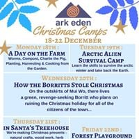 Ark Eden Christmas Camps - Week 1