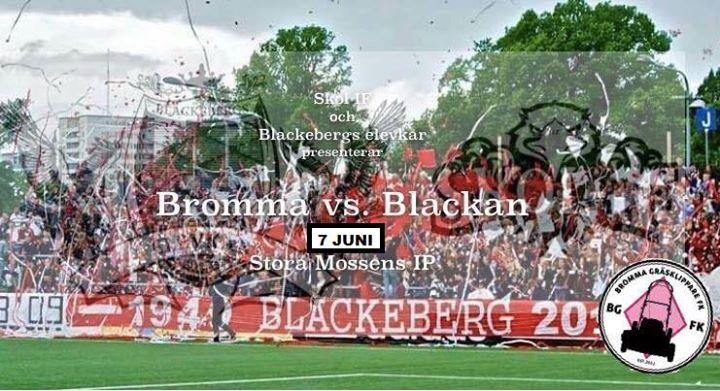 Blackan VS Bromma Fotbollsmatch at Stora Mossens IP 1aa5a3d44f17b