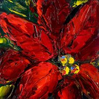 Poinsettias Dine N Paint - Public