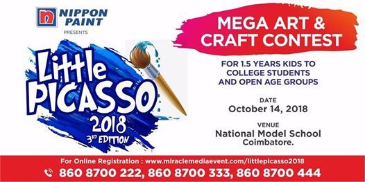 Little Picasso 2018-mega drawing contest