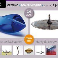 Zomerexpositie galerie Zeven Zomers