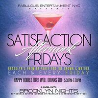 Satisfaction Afterwork Happy Hour wSpecial Guest DJ Big Lou