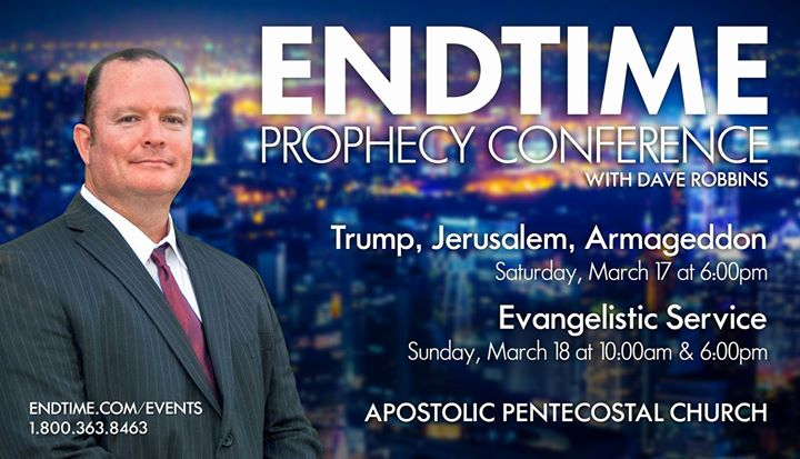 Endtime Prophecy Conference at Apostolic Pentecostal Church