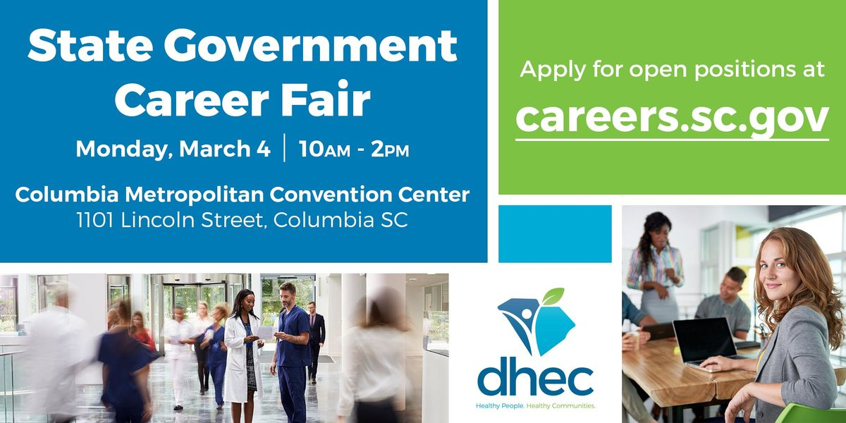 State Government Career Fair March 4 2019