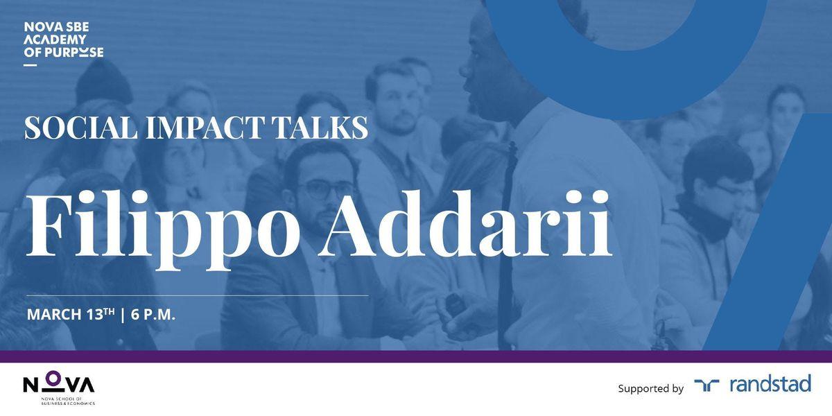 Social Impact Talk with Filippo Addarii