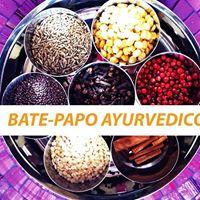Bate-papo Ayurvedico - palestrante Patricia Zvirtes