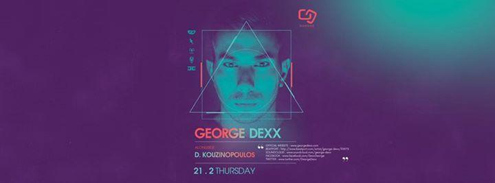George Dexx at Garage.Thursday 2102