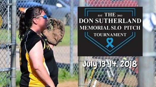 Don Sutherland Memorial Slo Pitch Tournament