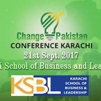 Change Pakistan Conference Karachi 2017