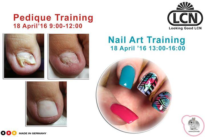 Pedique & Nail Art Training at Looking Good LCN, Pretoria
