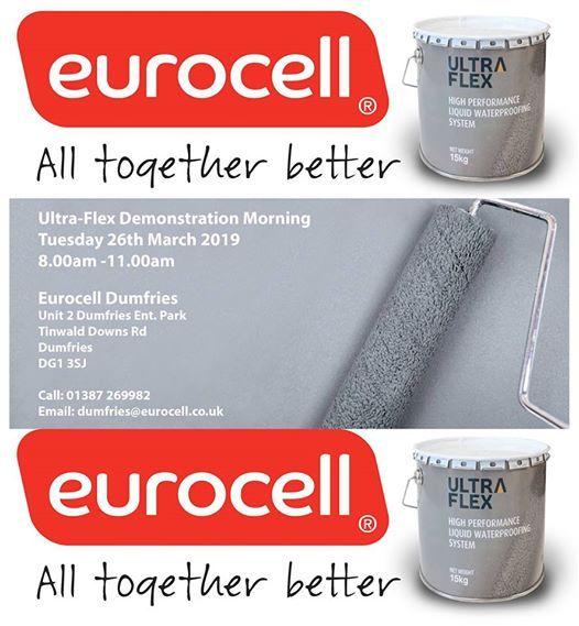 Ultra-Flex Demo Morning at Eurocell Dumfries