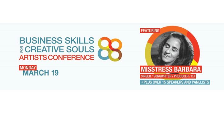 Business Skills for Creative Souls Artist Conference