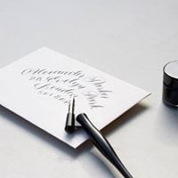Class Introduction to Modern Calligraphy with Suzie Dicker