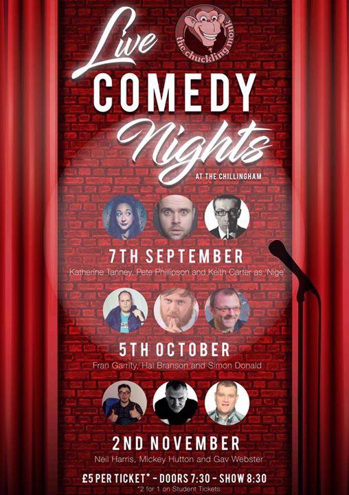 Comedy  The Chilli Sept 7th