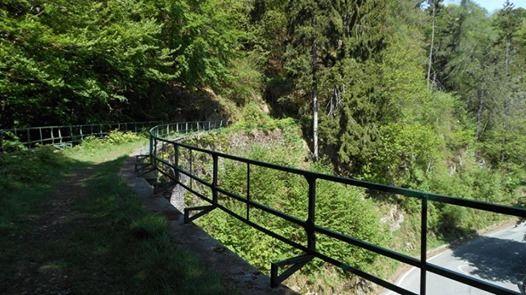 Valle di Oropa il Sentiero del Trenino e il Parco della Burcina