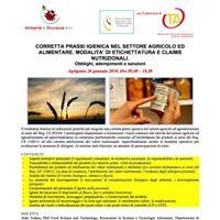 Workshop corretta prassi igienica nellagroalimentare