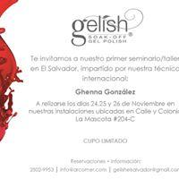 Seminarios Gelish Treasures by Ghenna Gonzalez en El Salvador