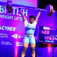British Weightlifting Championships - Day 1 Session 3