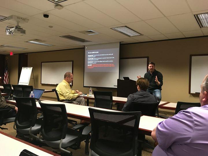 DFW Technology Prayer Breakfast Planning Meeting
