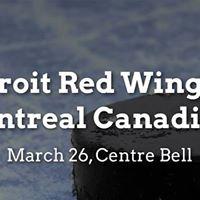 Detroit Red Wings vs. Montreal Canadiens