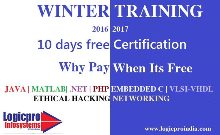 Winter Training 2016-17