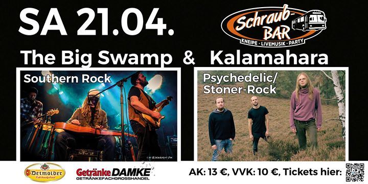 The Big Swamp & Kalamahara live at Schraub-Bar, Bückeburg