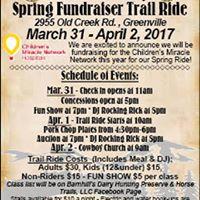 Barnhills Dairy Spring Fundraiser Trail Ride
