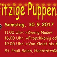 Von Kleist bis Kasper  65J. Puppentheatersammlung Dresden