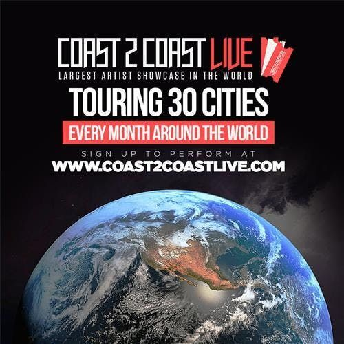 Coast 2 Coast LIVE Artist Showcase Miami FL - 50K Grand Prize