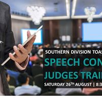 Speech Contest Judges Training - 12 Day - Robina Community Cent